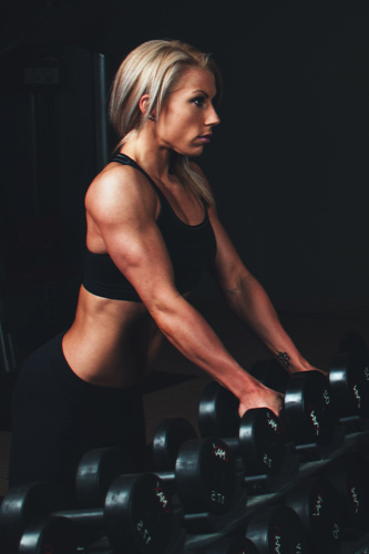 Fitness-woman